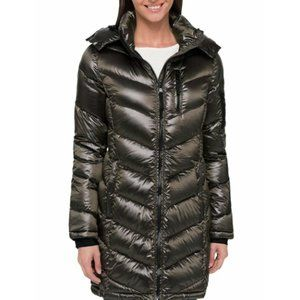 NEW Andrew Marc Ladies' Long Down Jacket, Loden